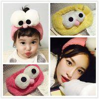 Wholesale The Big Eyes headband cartoon hair accessories face scarf sell germination straps South Korea head hoop Liu Haifa hoop hair band B0697