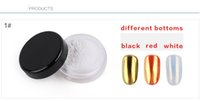 Wholesale Chameleon Powder - Nail polished mirror powder Aurora Mirror Powder 10 color laser chameleon flash