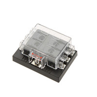 Wholesale auto car dc resale online - Way Circuit V DC Blade Fuse Box Block Holder for Auto Car Boat
