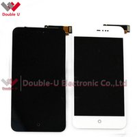 Wholesale Display Meizu Mx2 - 5pcs lot 100% Tested Replacement For MEIZU MX2 Full LCD Display Touch Screen Glass Digitizer Assembly White Black with Free Shipping