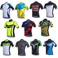 Wholesale Wholesalers Cycling Clothes - 20 Models Choice! 2016 New Cycling Wear Short Sleeve Top Cycling Jersey  Shirts Maillot Ropa Ciclismo Cheap Cycling Clothing
