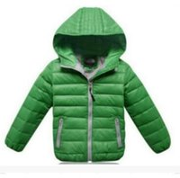 Wholesale Boys Outerwear Winter Coat Children - Children's Outerwear Boy and Girl Winter Warm Hooded Coat Children Clothes boy Down Jacket kid jackets 3-12 years