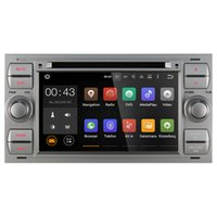Gioioso Autoradio Quad Core 1024 * 600 Doppia 2 Din Android 5.1.1 7 '' Car DVD Player Radio GPS per Ford Transit Focus Mondeo (con canbus)