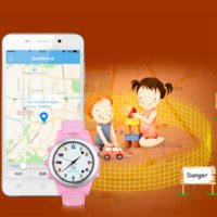 TOP Montre Anti GPS Perdu Tracker Regarder For Kids App SOS d'urgence GSM Smart Mobile Phone Pour IOS Android Smartwatch Wristband