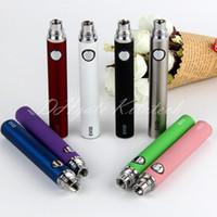 Wholesale vape supplier china resale online - evod battery ego thread vape pen ecigarette mah batteries for ce4 ce5 mt3 h2 china direct supplier