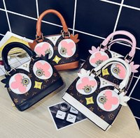 Wholesale Kids Crossbody Bags - Kids purse handbag Owl women messenger bags children rivet floral printed crossbody shoulder bag girl cute bird one shoulder bag R0161