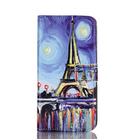 Tower Cat Love Bear Elephant Wallet Suporte de suporte de couro para Iphone 6 6s mais Samsung S6 S7 edge A310 A510 J1 J5