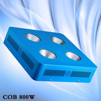 Wholesale Led Red Yellow Grow Light - Wholesale-Dominator 800W COB LED Grow Light Module Design Full Specturm Red,Blue,White,Yellow,IR and UV for Vegetable Indoor Plant Growing