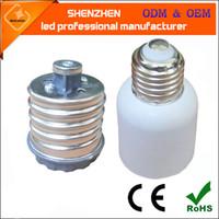 Wholesale E39 Socket - E40 to E27 lamp holder adapter converter E27 to E40 adapter converter E26 27 E39 E40 socket lamp holder