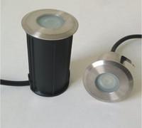 12v luces de inundación a prueba de agua ip68 al por mayor-Lámpara subterránea AC / DC12V / AC85-265V de la luz LED del paisaje de la inundación de la trayectoria del jardín de la prenda impermeable al aire libre superventas IP68