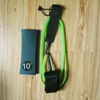 Wholesale Leg Leash - 2015Wholesales 10ft 7mm surf leash Double leg ropes leash TPU