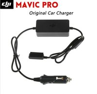 Wholesale Pro Car Parts - Original DJI Mavic Pro Car Charger Parts Low-voltage & Overheating Protection charge the Intelligent flight battery through a car