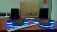 kits de bateria eletrônicos venda por atacado-Eletrônicos Gadgets Dicionários Aprendizagem Educação Brinquedos Drum Kit Kit de Bateria Eletrônica Portátil drum set Instrumentos Musicais Brinquedos Gif