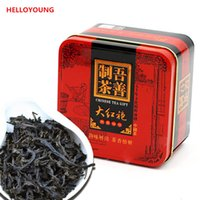 Wholesale C HC010 High grade Dahongpao Oolong tea China Da hong pao black tea advanced organic Chinese diet gift box packing green food