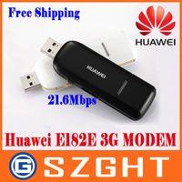 Wholesale Wcdma Usb Modem - Wholesale- HUAWEI E182E WCDMA 3G Modem USB Modem HSPA+ High Speed 21.6Mbps PKE1820 E367