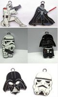 Wholesale Steel Jewelry Diy - lots of Mixed 100 Pcs Star Wars Enamel Metal Charm Pendants DIY Jewelry Making