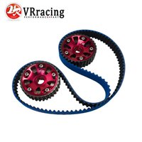 Wholesale VR RACING Racing Timing Belt Cam Gear FOR B16A Civic Si Del Sol VTEC DOHC BLUE HNBR VR TB1001B R