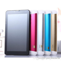 Billig 7 Zoll Dual SIM 3G Tablet PC MTK6572 Quad Core 1GB RAM 16GB ROM Bluetooth GPS Phablet Telefonanruf Tablet PC