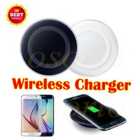 Cheap Qi Wireless Charger Celular Mini Charge Pad para dispositivo Qi-abled para Samsung Note 8 S8 S7 iPhone X iPhone 8 com pacote de varejo