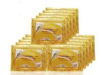 altını sopa toptan satış-Altın Tozu Göz Maskesi Anti-Kırışıklık koyu halkalara sopa Kollajen kristal göz maskesi 24 K Altın Maske Dört Kat Göz Tedavisi 4 in 1