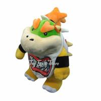 "Wholesale Super Mario Bros Stuffed Animals - Free Shipping New Bowser JR 8"" Super Mario Bros. Plush Doll Stuffed Toy Stuffed Animals Plush Toys For Gifts"