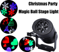 Wholesale Halloween Decorations Laser - Multi-color led Laser Light Moving Rgbw Projecting LED Lights Holiday whit 4PCS Switchable Pattern Lens Christmas Halloween party decoration