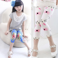 Wholesale Dots Tight - 12 Color Baby girls Flowers Dot leggings New children fashion Cartoon Mickey Minnie Leggings girls leggings long trousers Free Shipping