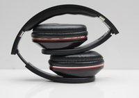 Wholesale Dj Hd Headphone - Wholesale-Wireless headphone HD DJ stereo audio Headset bluetooth with retail box On earphone with bass wrieless headphone