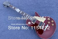 Wholesale Chinese Musical Instrument Shop - Wholesale-Chinese factory musical instruments Free shipping g standard shop electric guitar Burgundy color