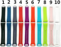 equipo de seguimiento al por mayor-La correa de muñeca más nueva del reloj de silicona pulsera para Gear Fit 2 reloj inteligente Sin rastreador L S tamaño VS Fitbit Alta DZ09 U8 reloj inteligente