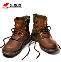 Wholesale Cheap Motorcycle Lights - Cheap Rivet Leather Men Snow Boots Vintage Casual Motorcycle Martin Boots shoes ZS16508