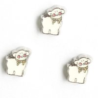 Wholesale Live Pigs Wholesalers - pig charms, floating charms for living locket, 20pcs lot, free shipping--98