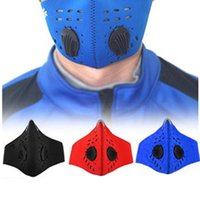 Wholesale Bicycle Mask Filter - Outdoor Sport Bicycle Riding Cycling Anti Dust Motorcycle ATV Ski Half Face Mask Filter Dustproof Mouth-muffle 3 Color 2501052