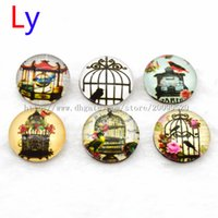 Wholesale China Sports Necklace - Free shipping 18mm Glass Snap button jewelry for charm popper bracelet necklace Snap button Jewelry making DIY CUSTOM NR0007