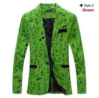 erkek gri takım elbisesi toptan satış-Yeni Slim Fit Rahat ceket Pamuk Erkekler Blazer Ceket Tek Düğme Gri Erkek Takım Elbise Ceket 2016 Sonbahar Patchwork Ceket Erkek Suite