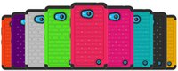 Wholesale Lumia Bling - For Nokia Lumia 640 XL 635 530 430 735 Wholesale High Quality Starry Bling Diamond Rhinestone Case Hybrid Defender Armor Case Retail Package