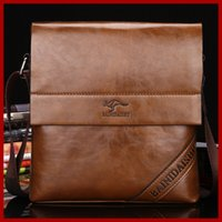 Wholesale Outlet Designer Bags - Wholesale- Men messenger bags Genuine Leather shoulder bags men's travel bags Factory Outlet designer brands 2015 new briefcase