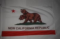 Wholesale car flag usa - New California Republic Fallout Banner Flag National Cubs Polyester Flag USA Football Hockey Baseball College Car Flags