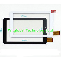 "Wholesale Prestigio Tablet Digitizer - Wholesale- Free Film + New touch screen For 7"" Prestigio MultiPad Wize 3047 PMT3047 3G Tablet touch panel digitizer glass Sensor Free Ship"