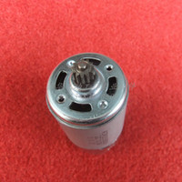 Wholesale Electric Motor 12 Dc - Free shipping! Wholsaler double speed Charge electric drill motor DC10.8V   12V (12 teeth)(8.8mm) for makita tool