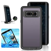 Wholesale galaxy note series - For Samsung Galaxy Note 8 Waterproof Case Redpepper Dot Series IP68 Dive Swimming Ultra thin Shockproof Cover with beautiful package