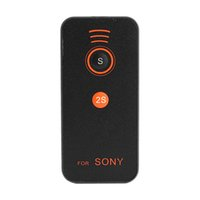 Wholesale Alpha Wireless - Factory Direct! NI5L IR Infrared Remote Control For Sony Alpha A700 A900 A500 Professional Remote Control