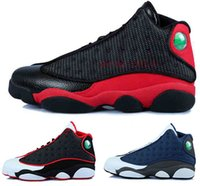 Wholesale Basketball Online Games - 2016 air retro 13 XIII man Basketball Shoes red Bred He Got Game Black Sneaker Sport Shoes Online Sale Size 8-13