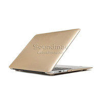 Wholesale Laptop Metallic Texture Fullbody Shell Cover For Macbook Air Pro Retina Laptop Sleeve Bag Carrying Case OPP Bag