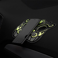 Wholesale Ward Off Evil - 1Pair Noctilucent Car Anti-skid Pad Brave Troops Pattern Phone Car Mat Accessories Ward off Evil  Incurs the Wealth Universal