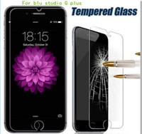Wholesale Iphone G Screen Protector - For blu dash m2 R1 HD studio G plus S510Q studio G D790U Tempered Glass Screen Protector Explosion proof Film with Paper Package