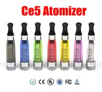 CE5 EGO Atomizer lange Wick 1,6 ml Clearomizer E-Zigarette Atomizer für eGo-T eGo Q Vision spinner Batterie Ego Serie CE4S CE4