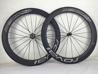 Wholesale Cycling Road Wheels Carbon - 700C full carbon bike tubeless clincher road wheelset super quality wider wheels with ROVAL painted for cycling freeshipping now