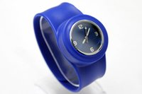 Wholesale Wholesale Funlife - DHL free shipping silicone watches slap snap watch funlife Novelty Gifts adult slap quartz watches women