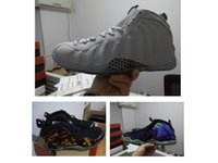 Wholesale Shinny Fabric - Gone Fishing Foams mens basketball shoes outdoor NRG GALAXY penny hardaway sneaker Shinny wolf grey Premium Red Black Gold foams trainers